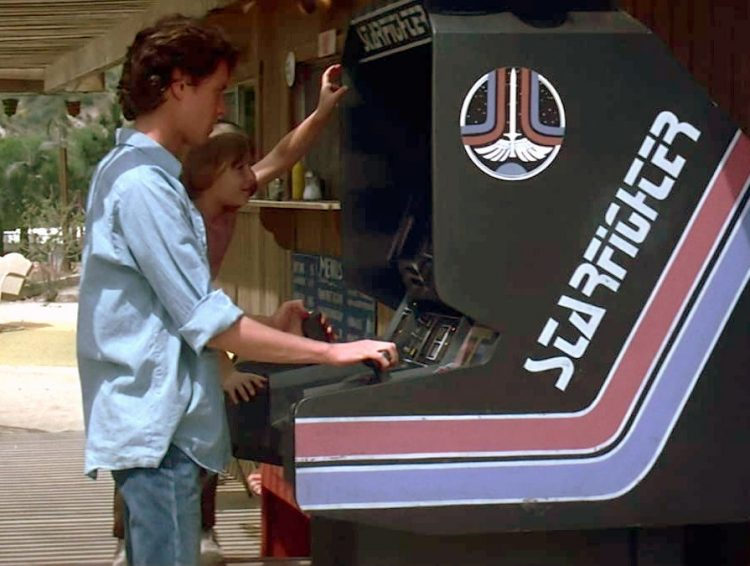 Arcade video game in The Last Starfighter (1984)