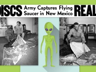Are flying saucers real Roswell UFO mystery enthralls the nation (1947)