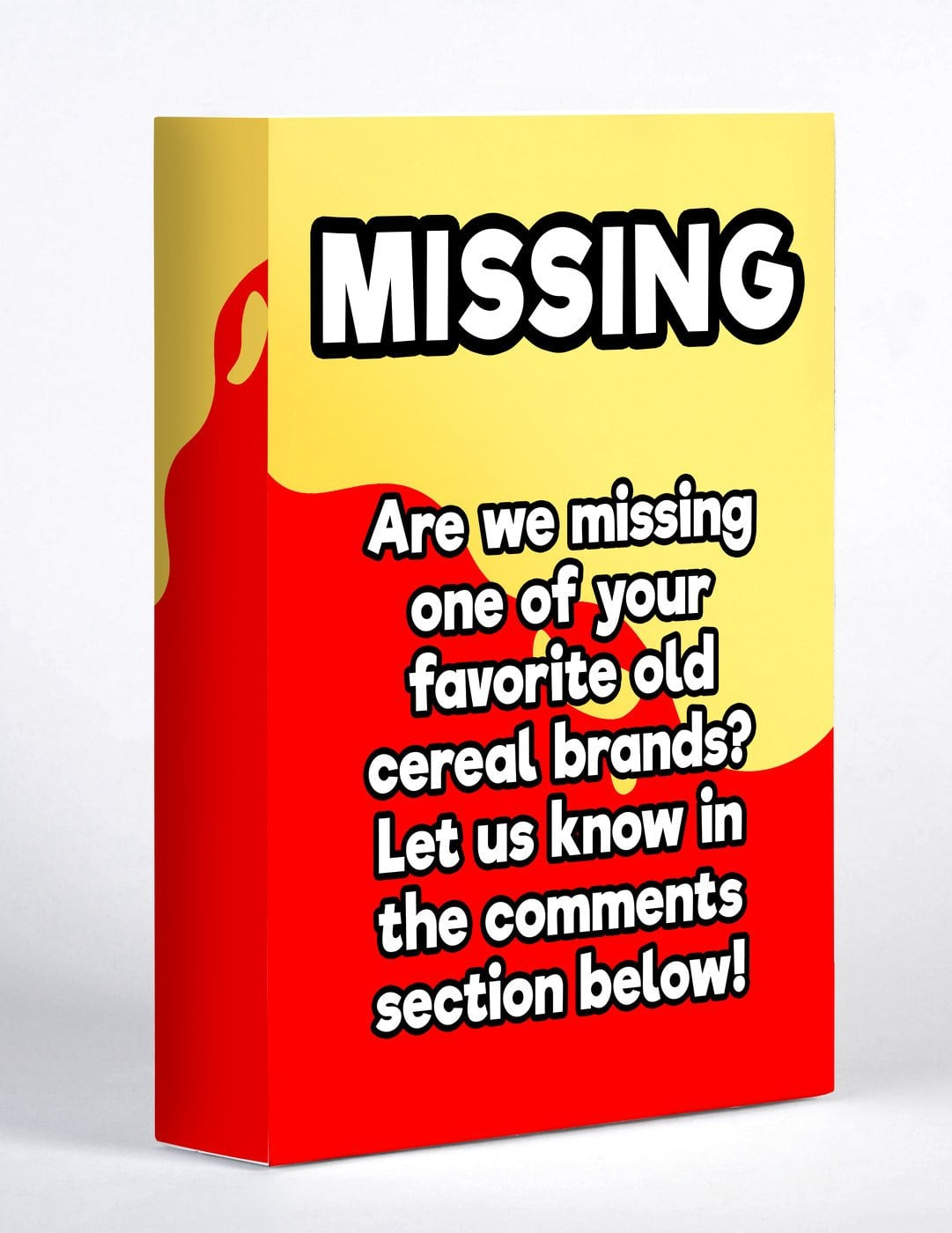 Are we missing one of your favorite old cereal brands
