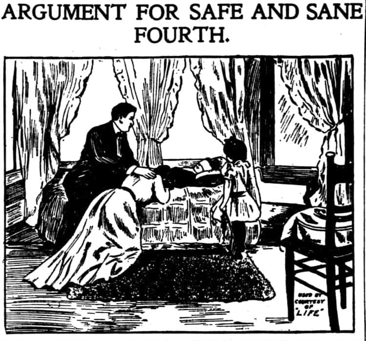 Argument for a sane 4th of July - 1912