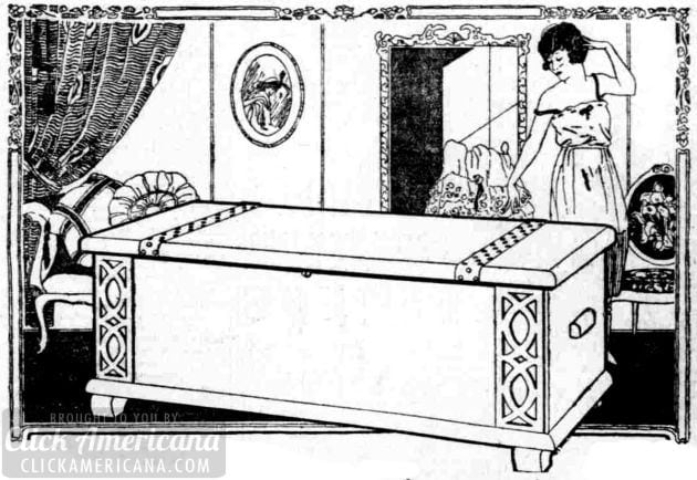 what should you put in a hope chest   1920