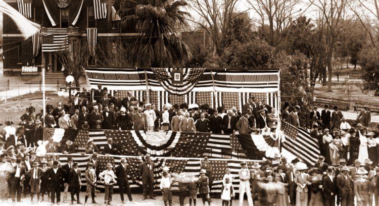 Arizona statehood ceremony 1912