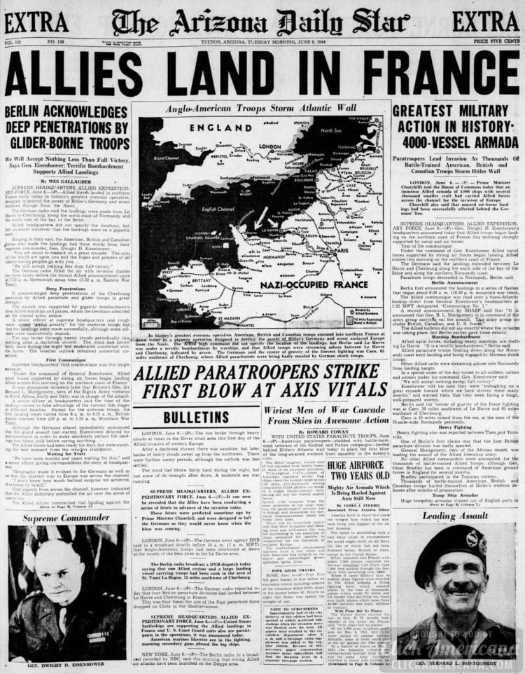 Allies Land in France