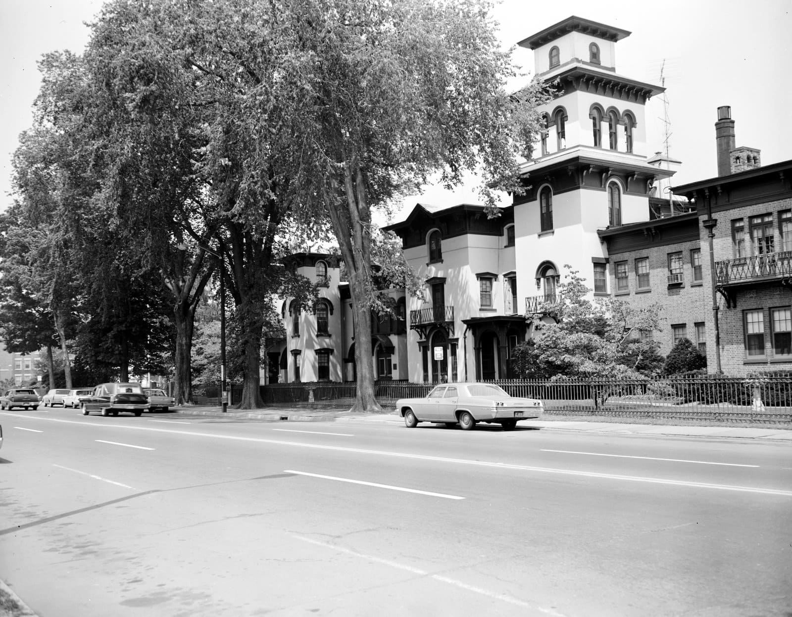 Armsmear - Colt mansion seen in the 1960s (1)