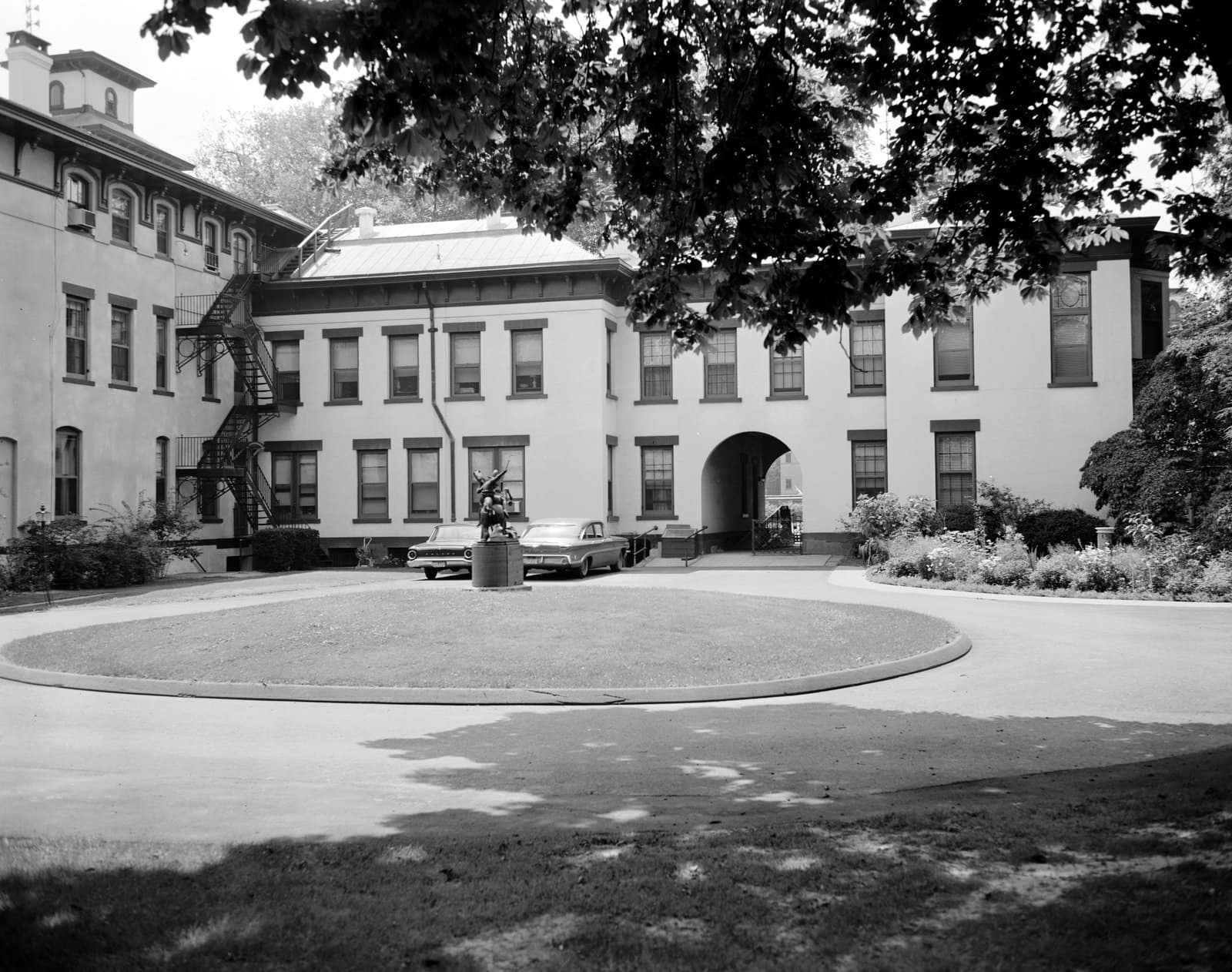 Armsmear - Colt mansion seen in the 1960s (2)