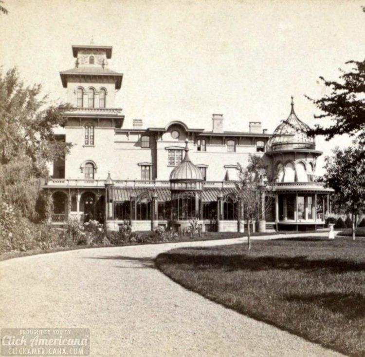 Armsmear, residence of Mrs. Samuel Colt, Hartford, Conn, by R. S. De Lamater
