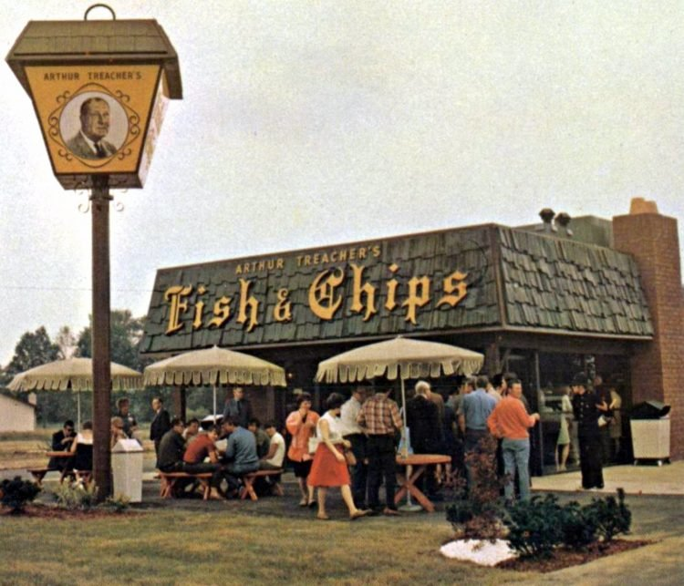 Arthur Treacher's Fish and Chips vintage fast food restaurants (2)