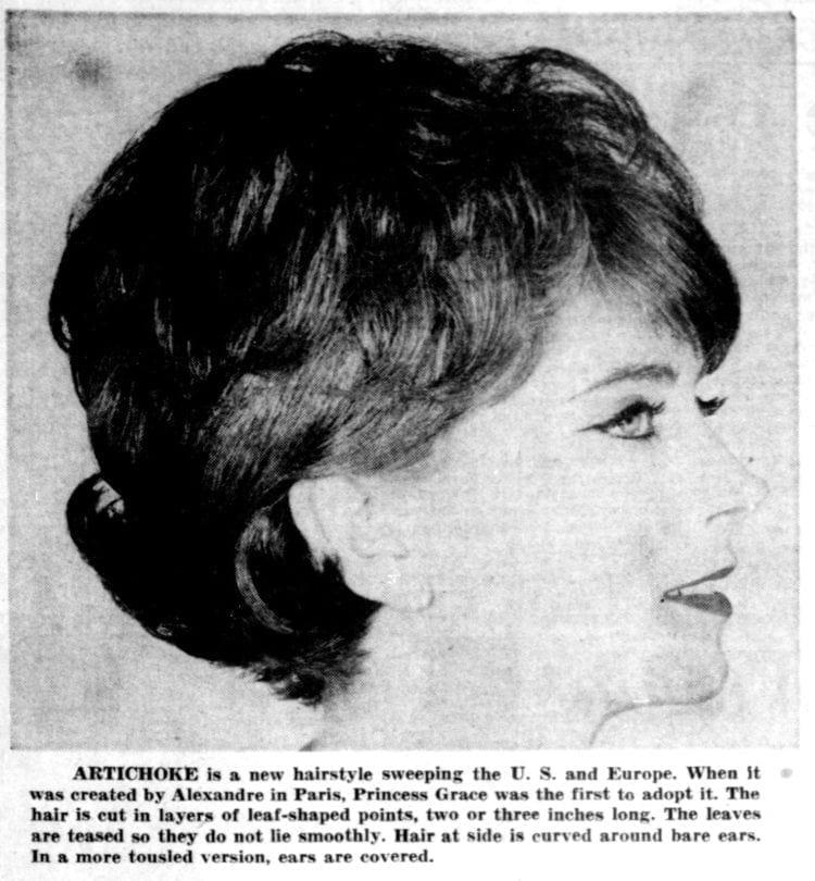 Artichoke hairstyle tips 1961 (1)