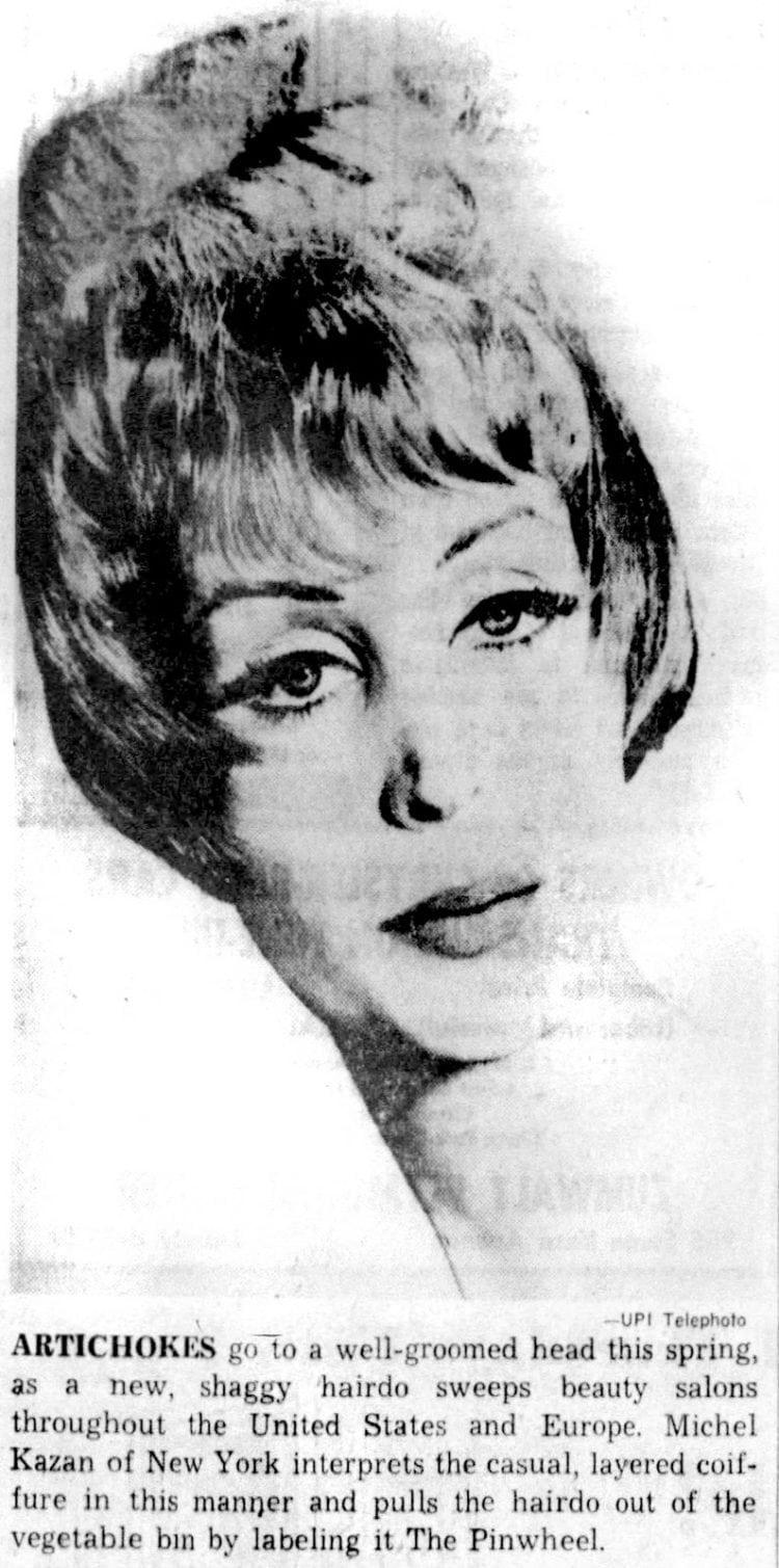 Artichoke hairstyle tips 1961 (2)