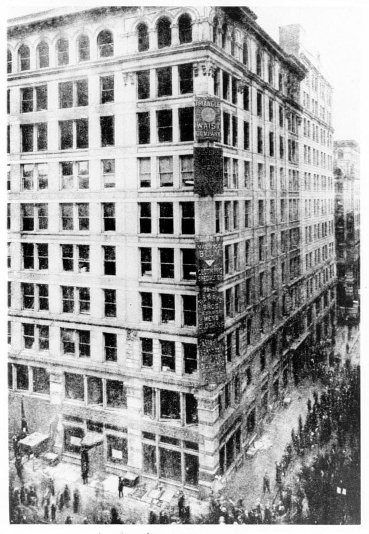 Asch Building after the Triangle Shirtwaist Factory Fire