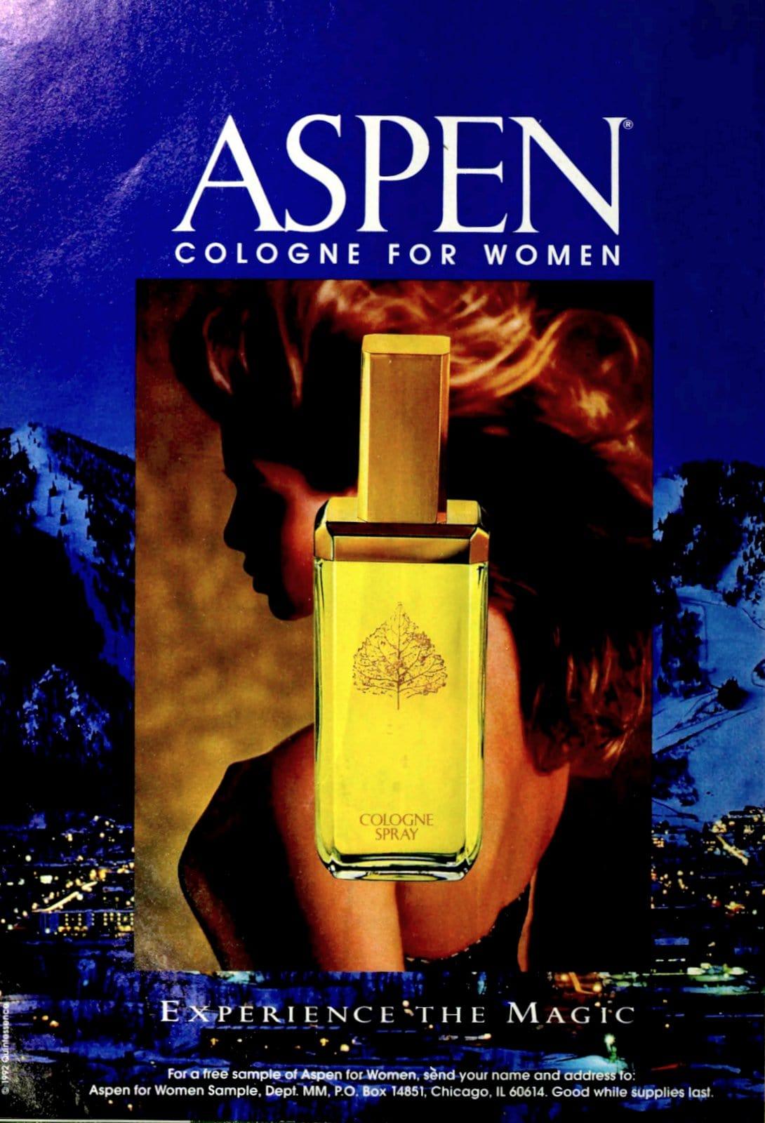 Aspen cologne for women (1993) at ClickAmericana.com
