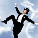 Fred Astaire was Puttin' on The Ritz in the Irving Berlin musical 'Blue Skies' in 1946