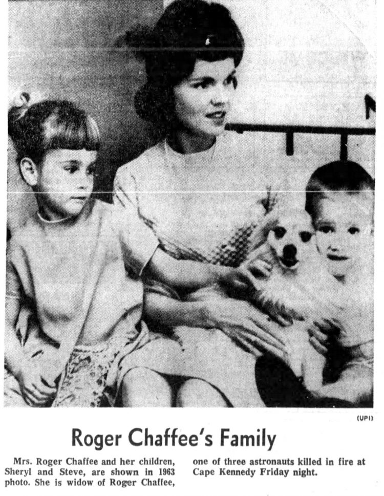 Astronaut Roger Chaffee's family
