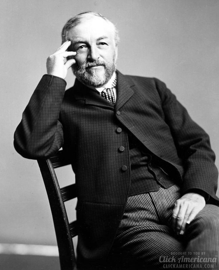 Astrophysicist Samuel Pierpont Langley