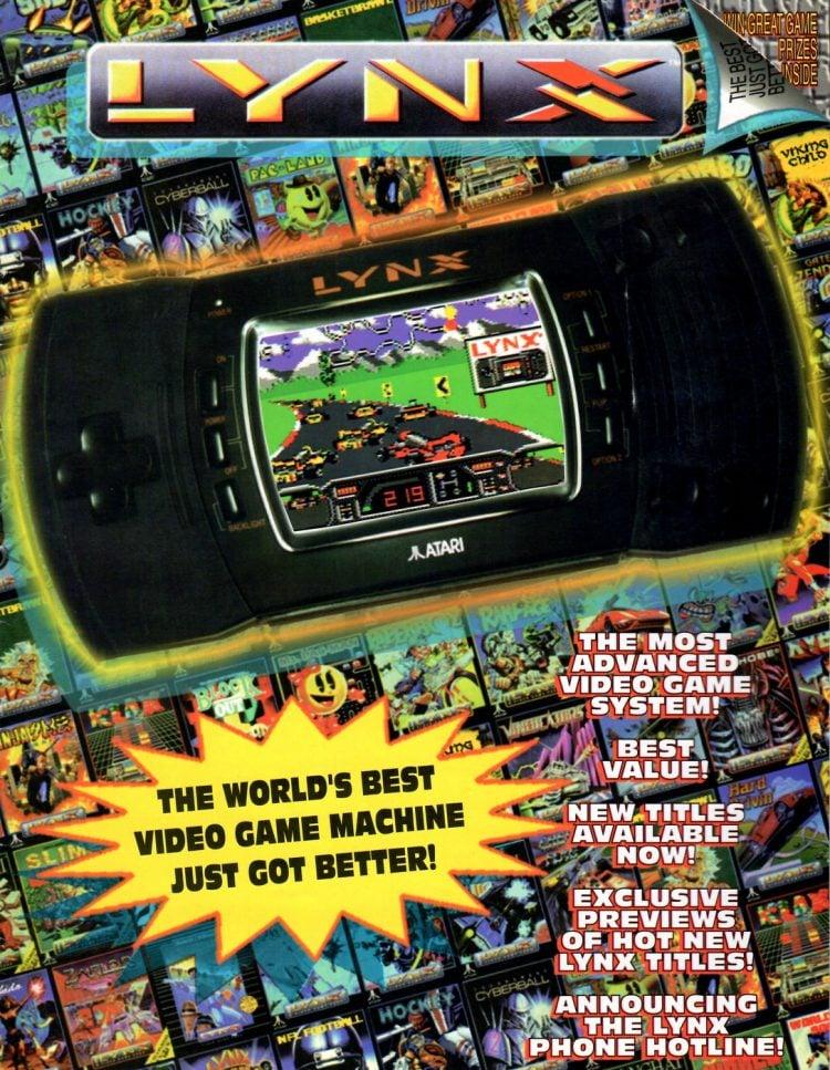 Atari Lynx II Launch Promo Special 1991 (2)