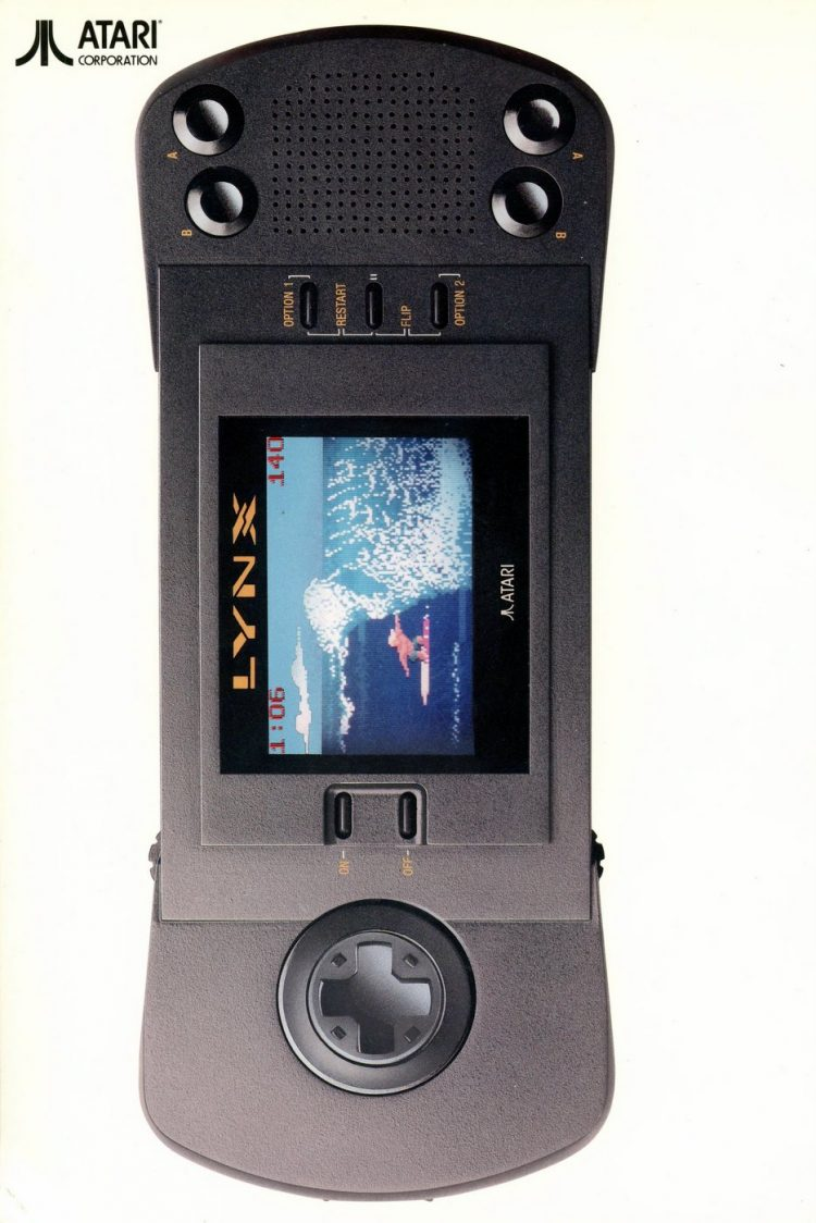 Atari Lynx vintage game machine from 1989 (2)