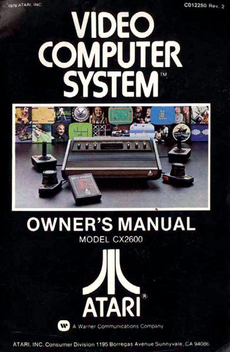 Atari Video Computer System Manual 1978