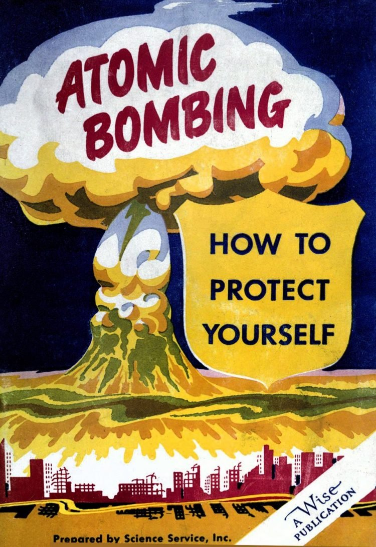 Atomic bombing - How to protect yourself 1950