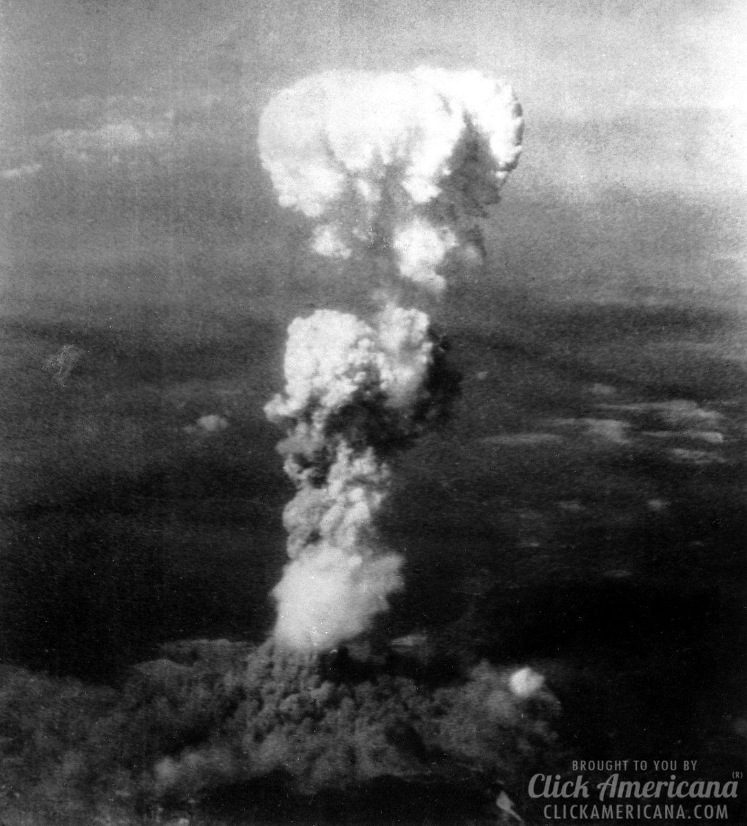 The bombing of Hiroshima (1945)