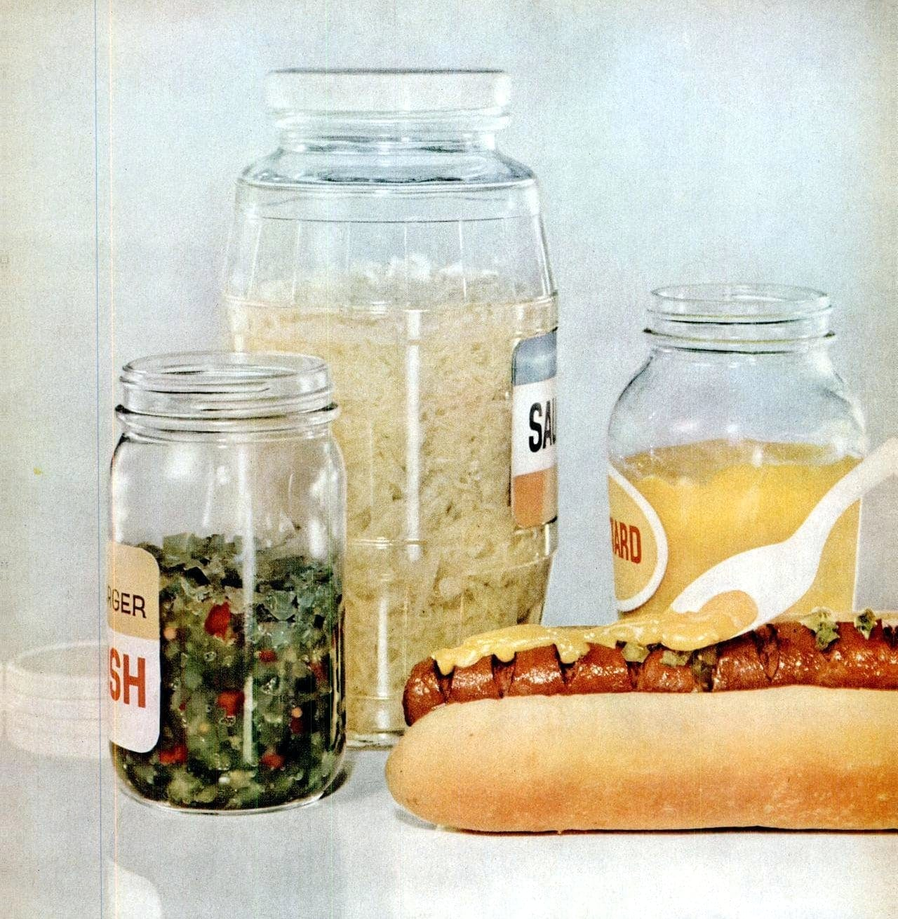 Aug 31, 1959 Hot dogs food