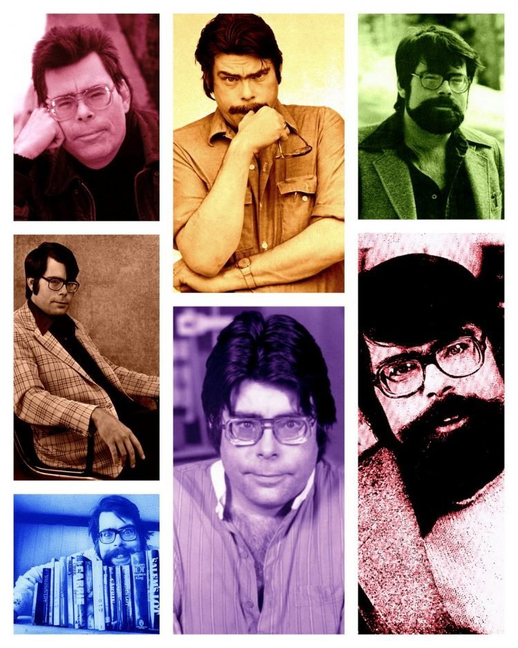 Author Stephen King - Early in career