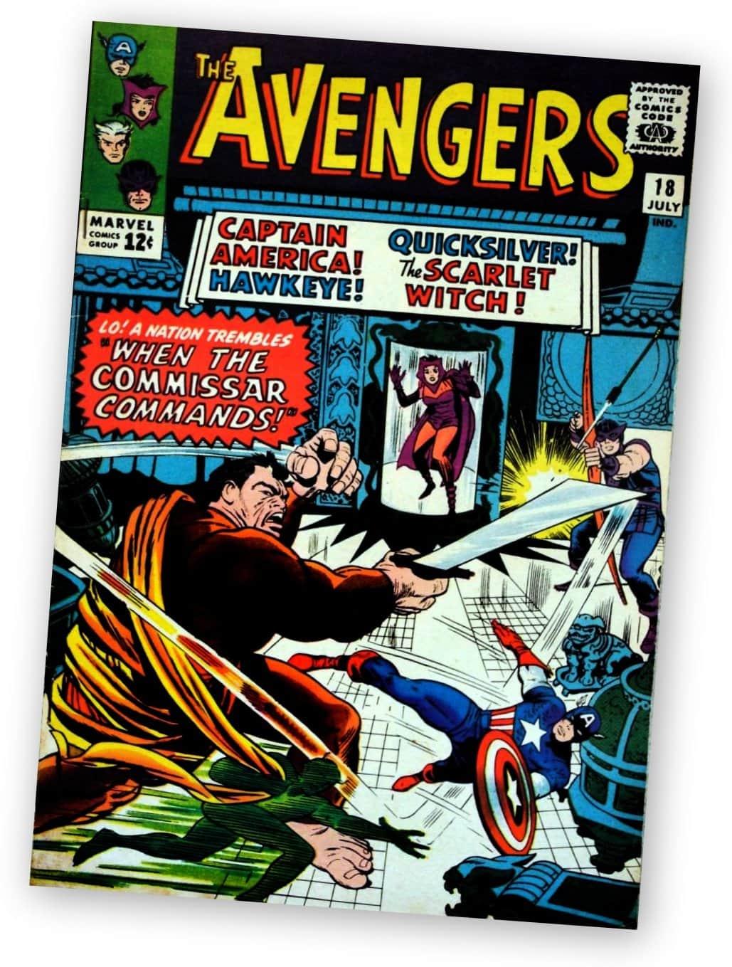 Avengers 18 - Marvel Comics - 1965
