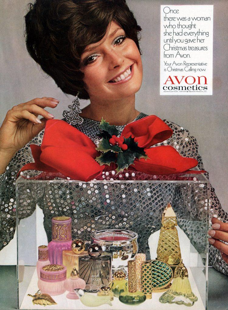 Avon Christmas gift sets - Cosmetics 1969
