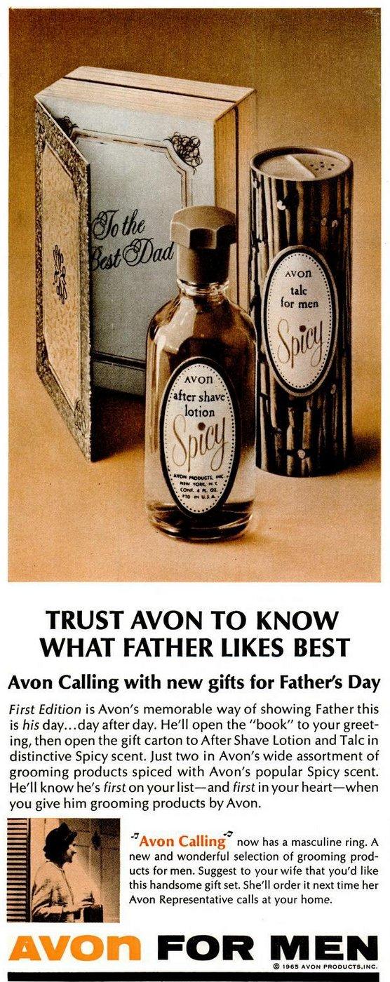 Avon for Men gift set 1965