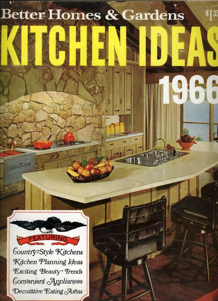 BHG kitchen kideas from 1966