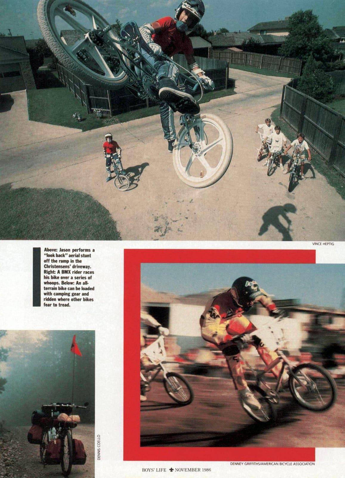 BMX - Boys' Life Nov 1986