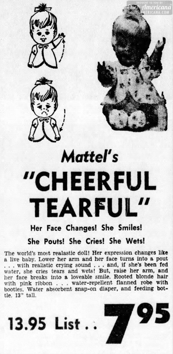 baby-cheerful-tearful-mattel-doll-from-1967