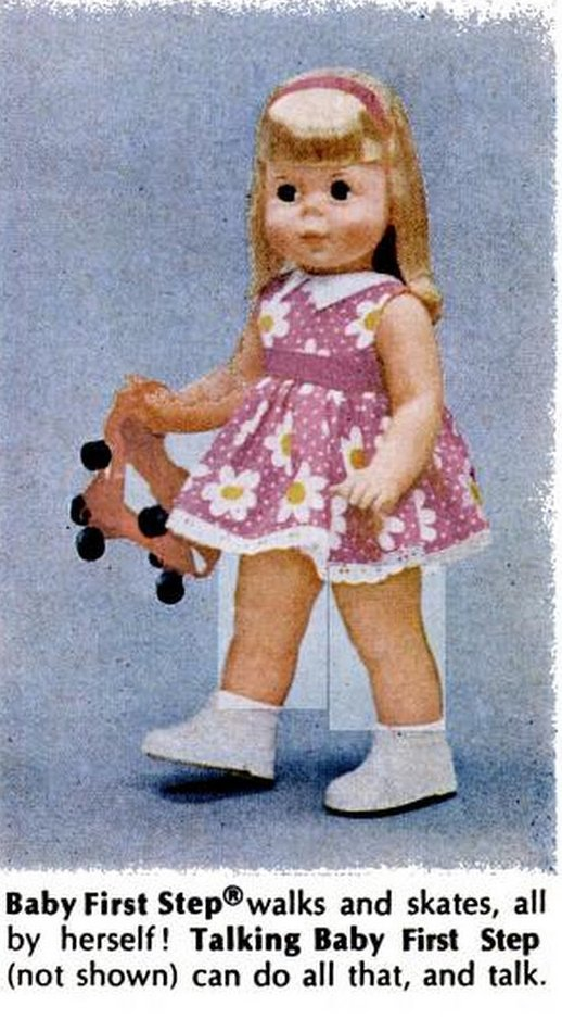 Baby first step - Mattel toys from 1967
