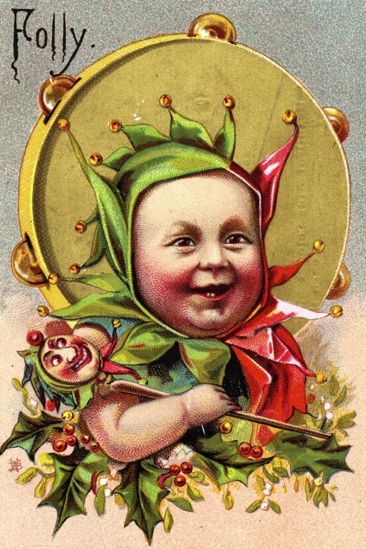 Baby folly - Court jester child