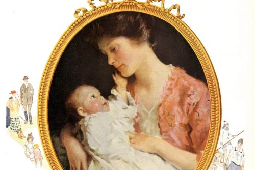 Babyology Old-fashioned advice on babies and sleep from 1913