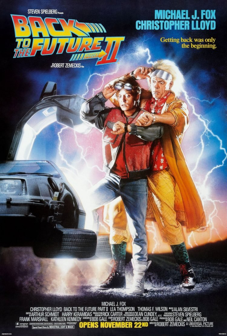 Back to the Future 2 movie poster - 1985