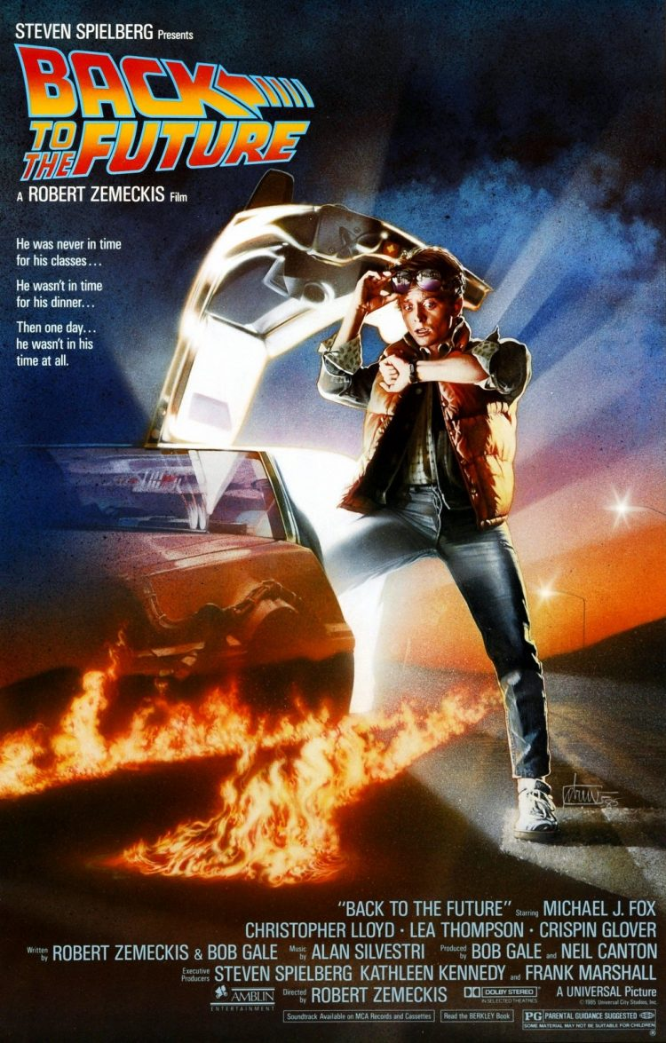 Back to the Future movie poster - 1985