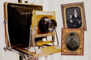 Back when photography was new, here's how it worked - Antique cameras