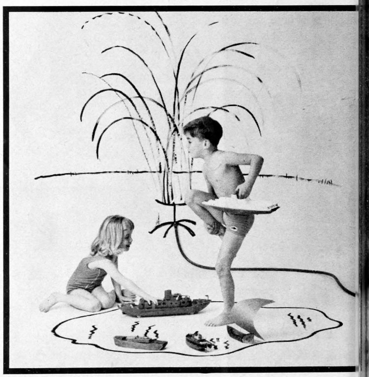 Backyard ship-to-shore - Fun activities for kids - ideas from the 60s