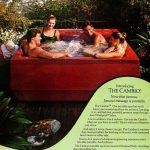 Backyard spa Cambio hot tub from Jacuzzi (1981)