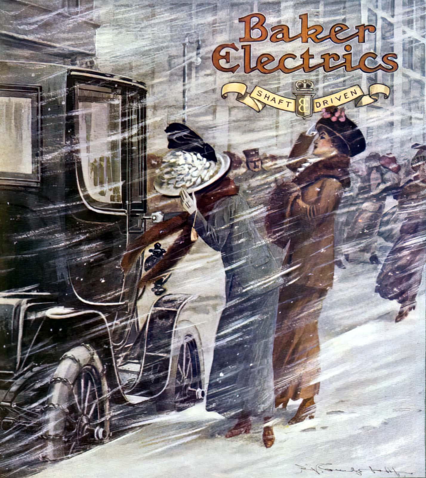 Baker Electrics motor vehicle 1911
