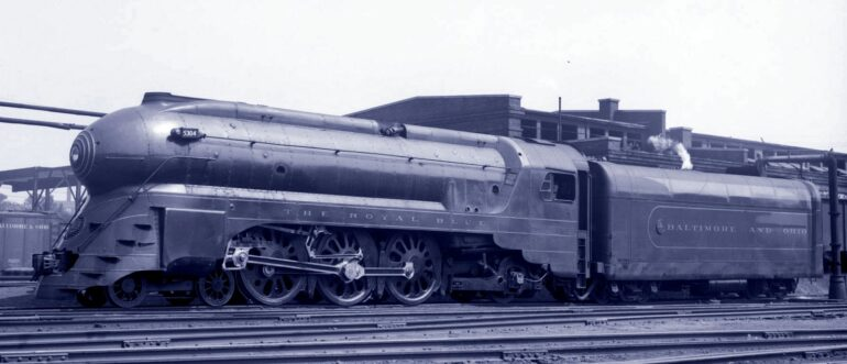 Baltimore and Ohio Railroad - The Royal Blue