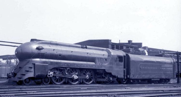 Baltimore and Ohio Railroad - The Royal Blue train c1937
