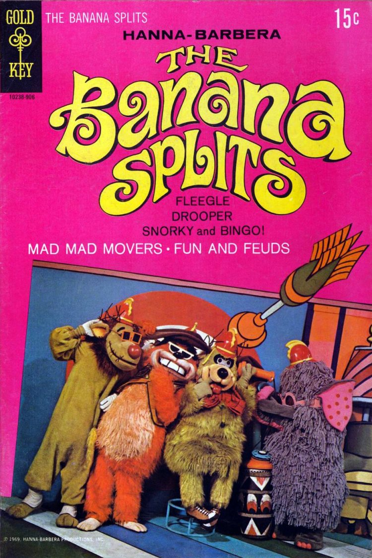 Banana Splits Adventure Hour book from 1969