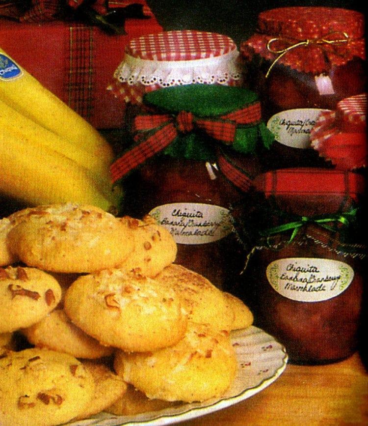 Chiquita holiday cookies recipe