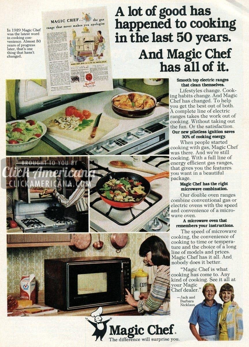 Barbara Nicklaus for Magic Chef (1977-1978)