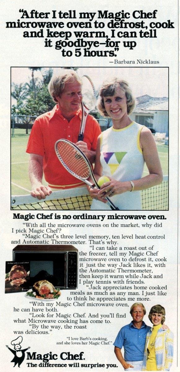 Barbara Nicklaus for Magic Chef-11-21-1977