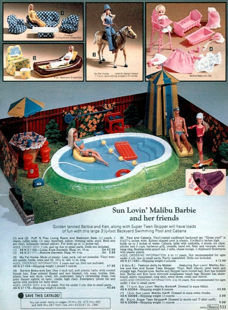 Barbie Dream House from 1980