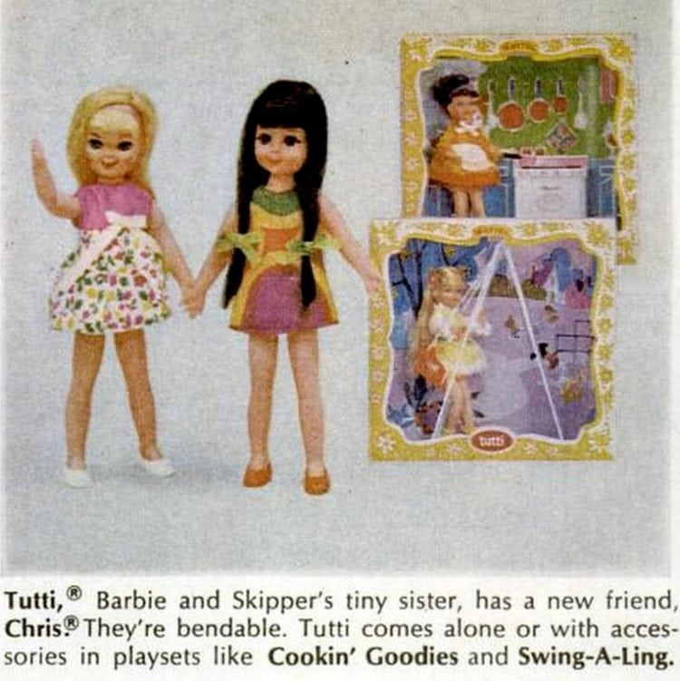 Barbie dolls and toys of 1967 (2)