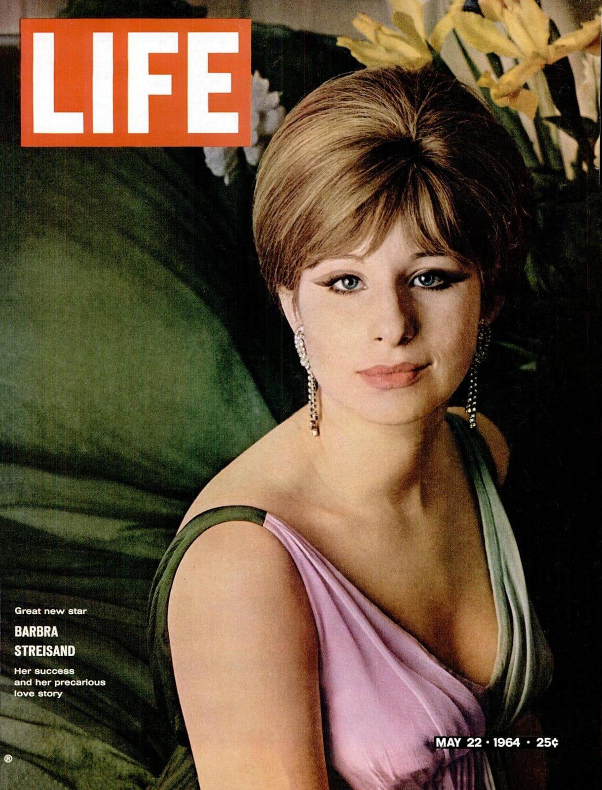 Barbra Streisand at 21 A born loser's success and precarious love (1964)