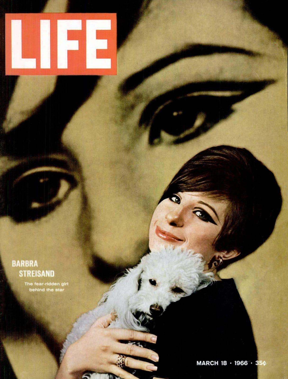 Barbra Streisand on the cover of LIFE (1966)